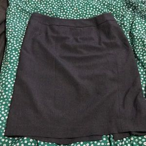 Calvin Klein size 8 dress skirt gray office